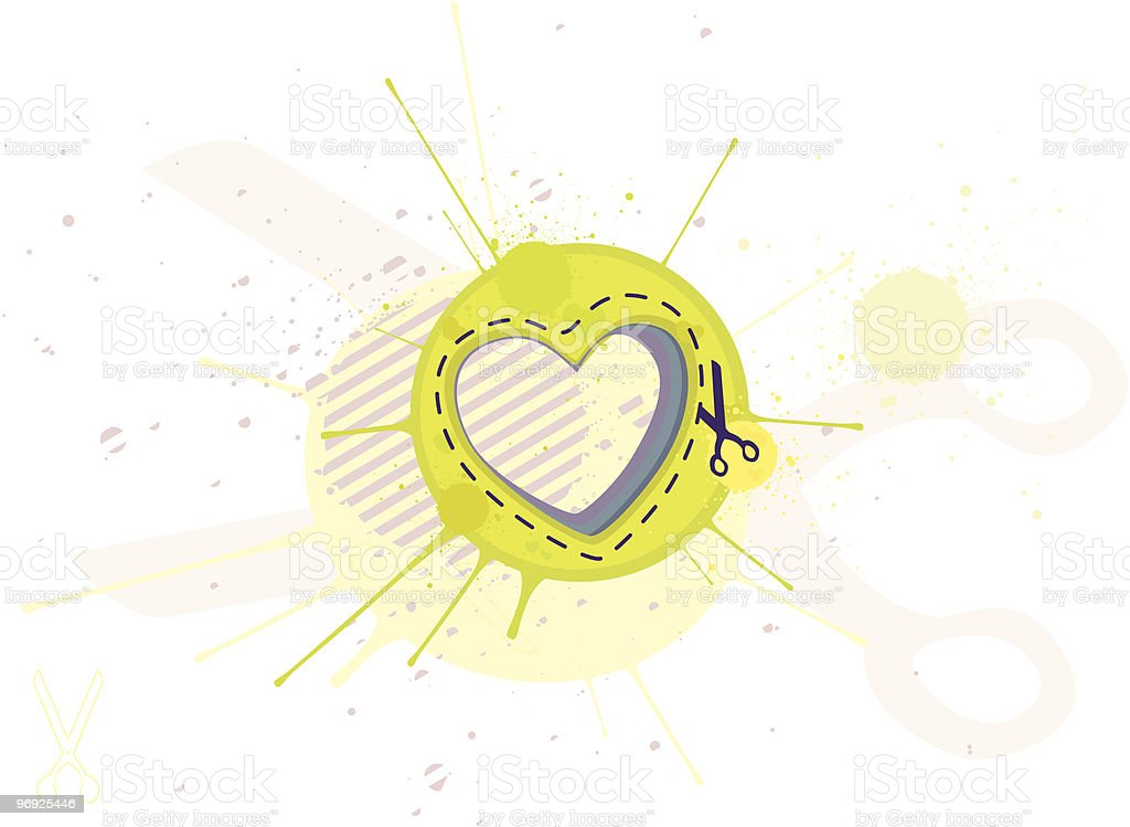 Heart abstract royalty-free heart abstract stock vector art & more images of appliqué
