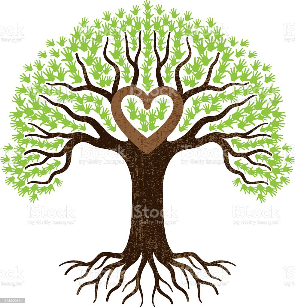 royalty free heart shaped tree with roots illustration clip art rh istockphoto com transparent tree with roots clipart tree with roots clip art free