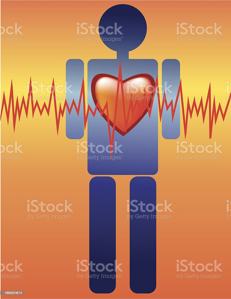 heart attack royalty-free stock vector art