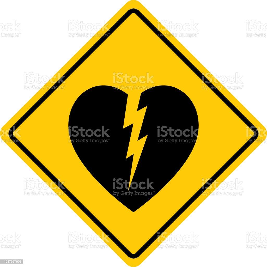 Herzinfarkt Warnzeichen Stock Vektor Art und mehr Bilder von ...