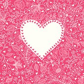 Heart vector seamless pattern . Hihg res jpg included . AI10-compatible EPS.