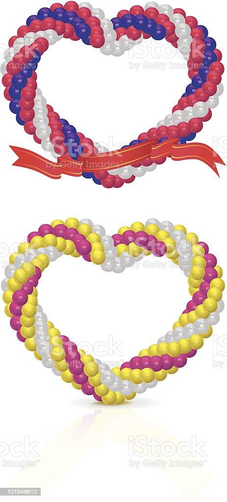 Heart balloon royalty-free stock vector art