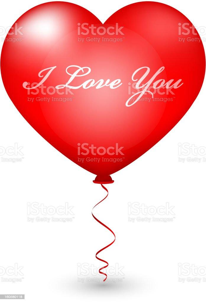 Heart balloon royalty-free heart balloon stock vector art & more images of anniversary