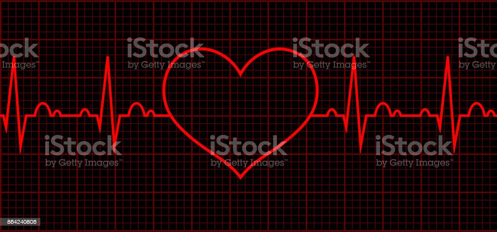 Heart beat. Cardiogram. Cardiac cycle royalty-free heart beat cardiogram cardiac cycle stock vector art & more images of abstract