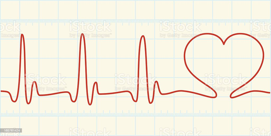 Heart Beat royalty-free stock vector art