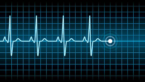 Heart Beat Heart Beat taking pulse stock illustrations