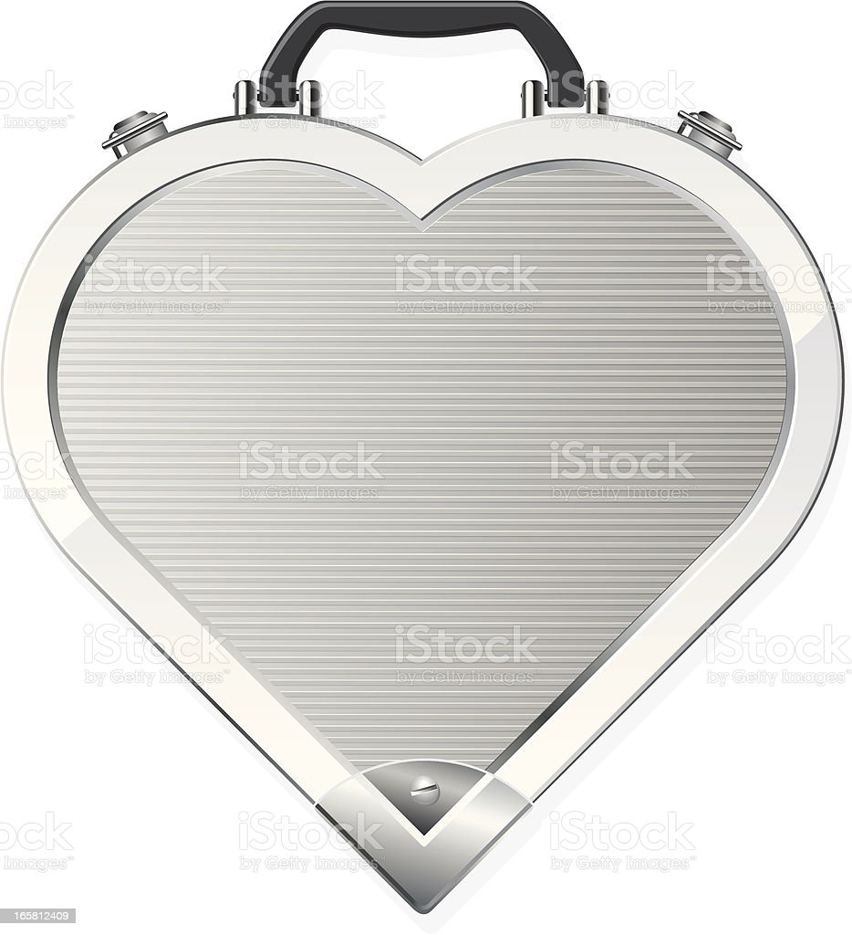Heart case royalty-free stock vector art