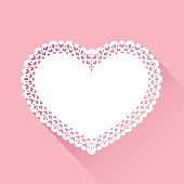 Vector illustration of background heart.
