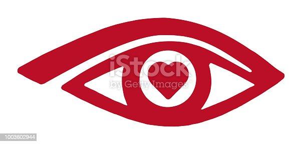 istock Heart Eye 1003602944