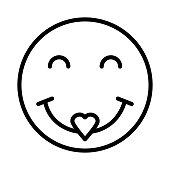 heart eyes  emoticon  face