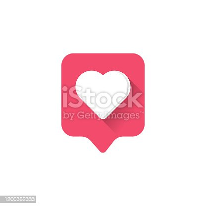 istock Heart icon logo. Heart icon sign. Heart icon flat. Heart icon design. 1200362333