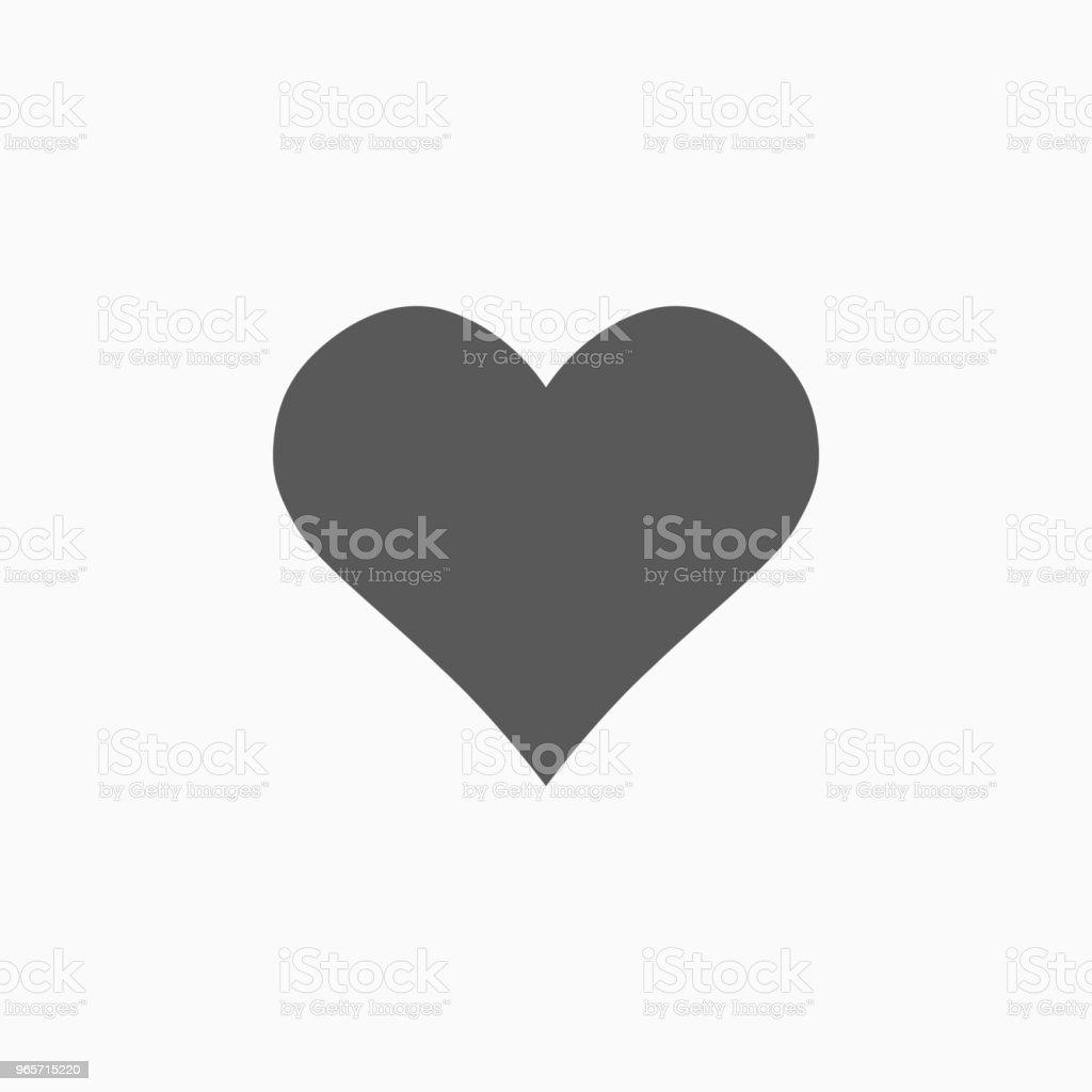 heart icon - Векторная графика Активный образ жизни роялти-фри