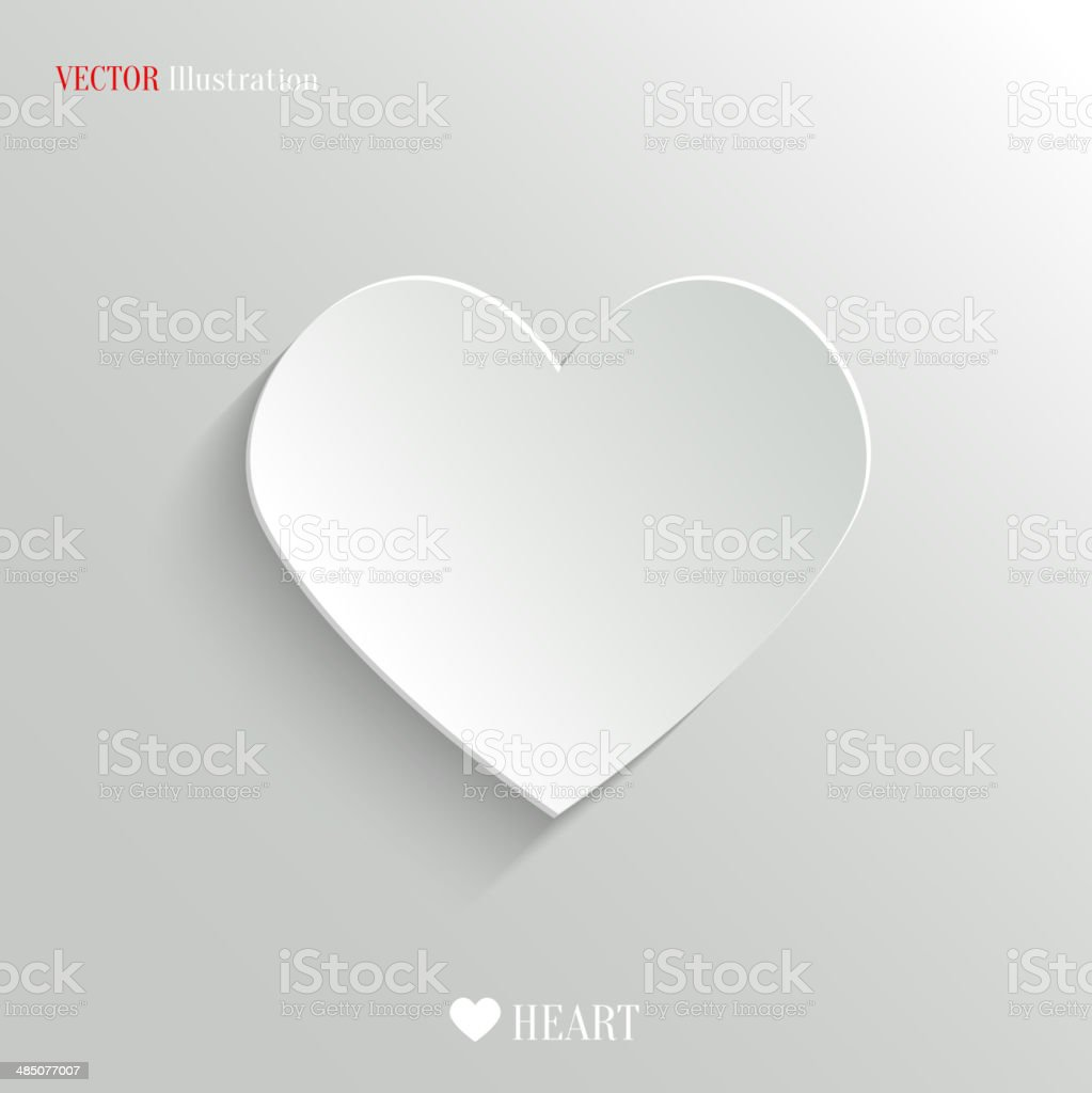 Heart icon - vector web backgroundvectorkunst illustratie