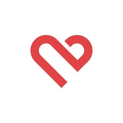 Heart icon,love concept