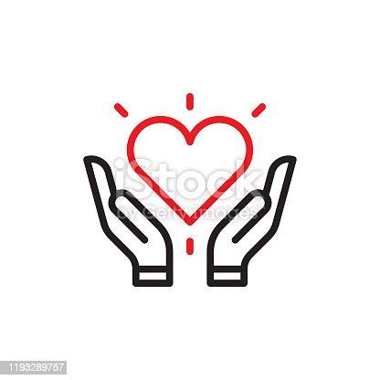 istock Heart in hands 1193289757