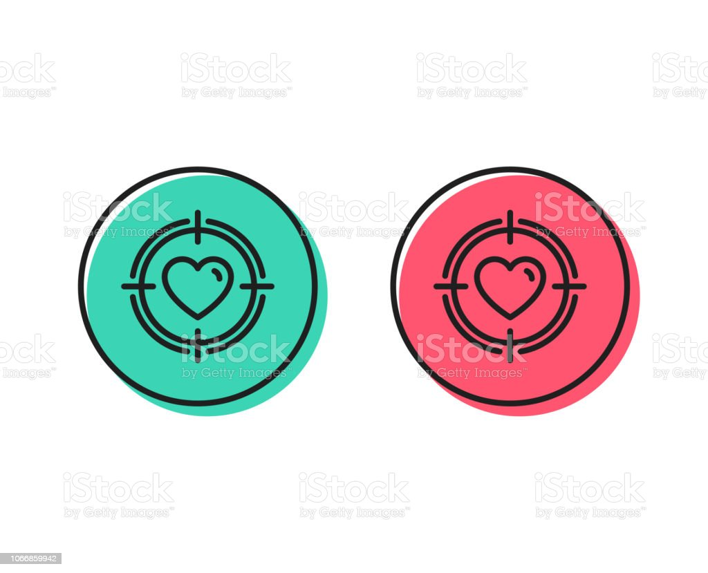 heart in target aim icon love symbol vector stock illustration download image now istock https www istockphoto com vector heart in target aim icon love symbol vector gm1066859942 285295325