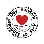 heart in the palms - random acts of kindness day
