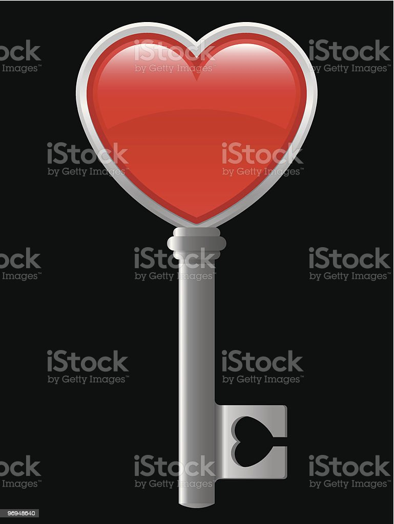 Heart key royalty-free heart key stock vector art & more images of art and craft