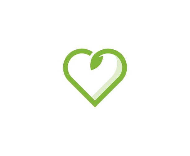 Herz-Logo – Vektorgrafik
