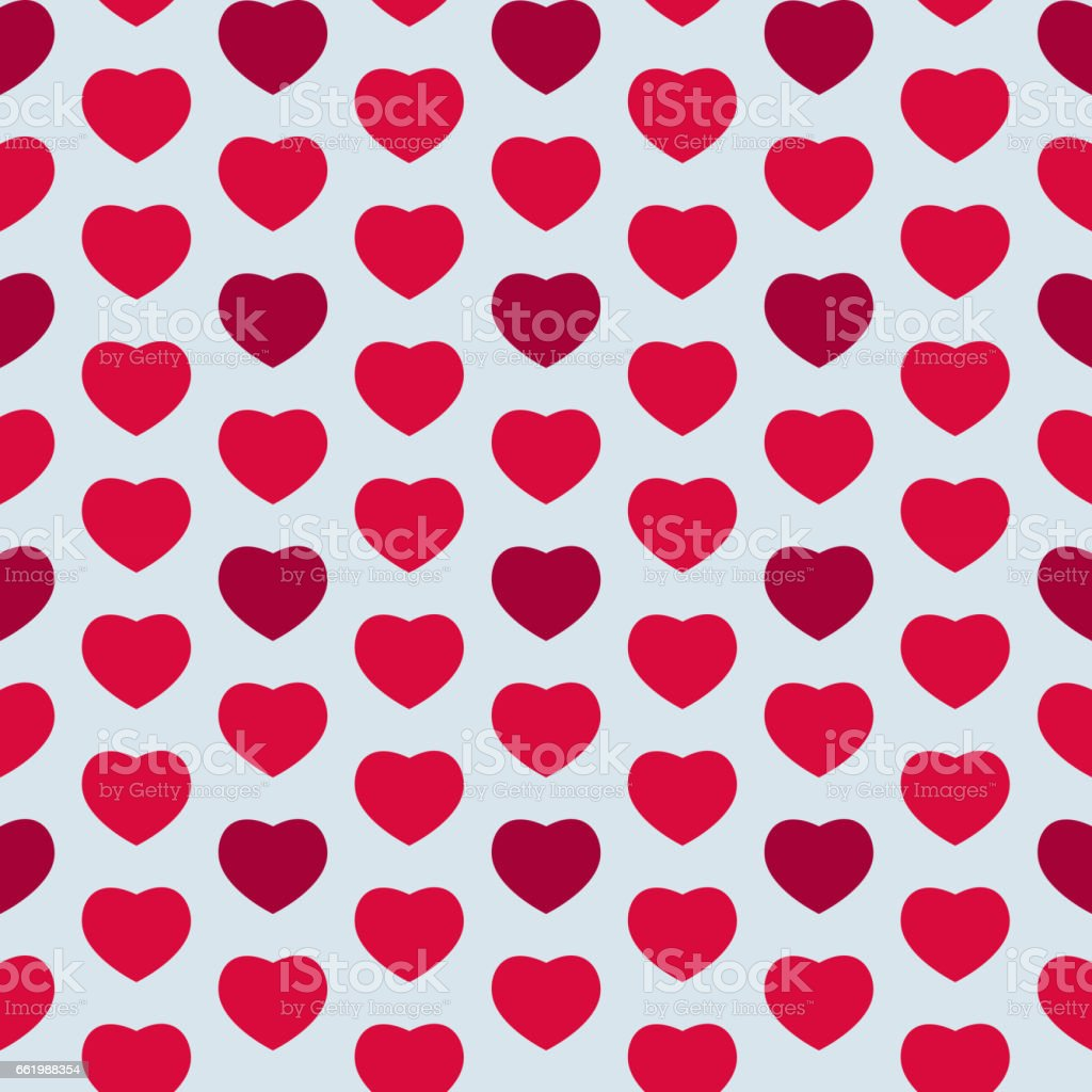 Heart Love Seamless Pattern Background Vector Illustration royalty-free heart love seamless pattern background vector illustration stock vector art & more images of art