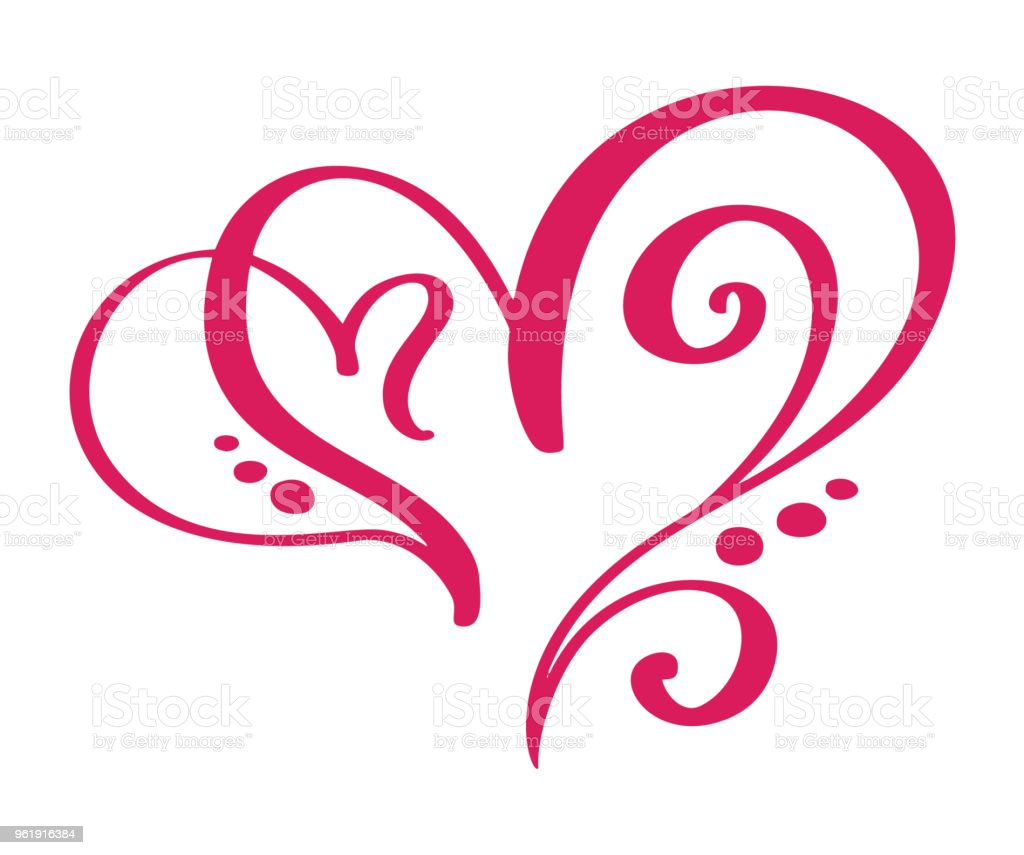 Heart Love Sign Forever For Happy Valentines Day Infinity Romantic
