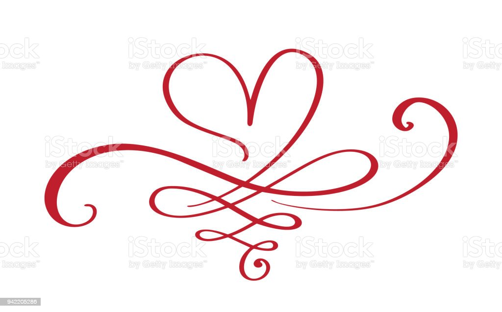 Heart Love Sign Forever Infinity Romantic Symbol Linked Join Passion
