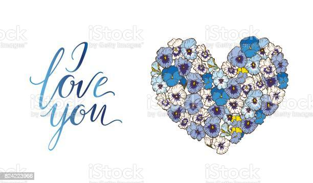 Heart of blue and purple pansies flowers isolated on white background vector id824223966?b=1&k=6&m=824223966&s=612x612&h=3kwmwul4pzlacswyymeym8ahjmpszfoh 8yrxbofewu=