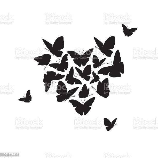 Heart of butterflies valentines day card vector vector id1081629918?b=1&k=6&m=1081629918&s=612x612&h=ihu9areep jdiivsg0ojv kusxivpdtzqpgomigo ai=