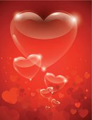 Heart of Glass Valentine Illustrarion