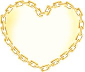 Heart of Gold Chain.