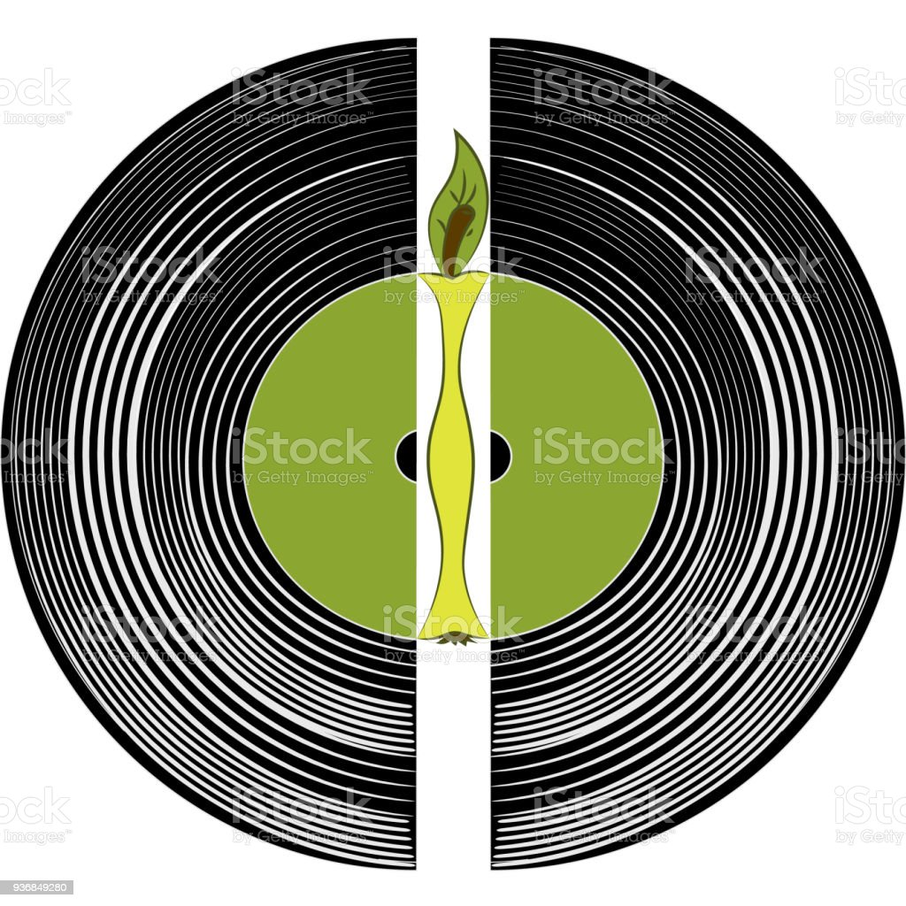 Heart of music a vinyl record and an apple stock vector art more heart of music a vinyl record and an apple royalty free heart of music ccuart Image collections