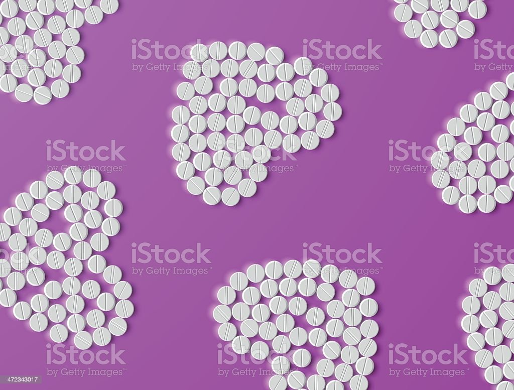 Heart of pills royalty-free heart of pills stock vector art & more images of art