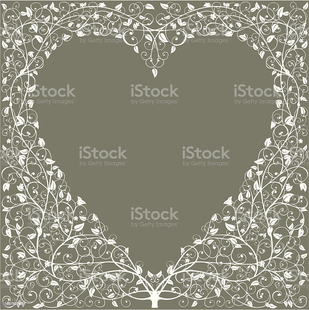 Heart of the Forest vector art illustration