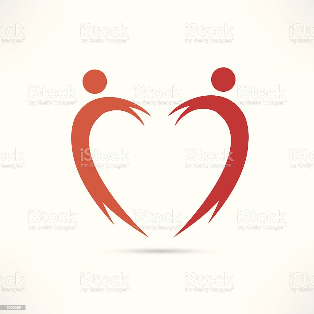 heart of the people icon royalty-free heart of the people icon stock vector art & more images of adult