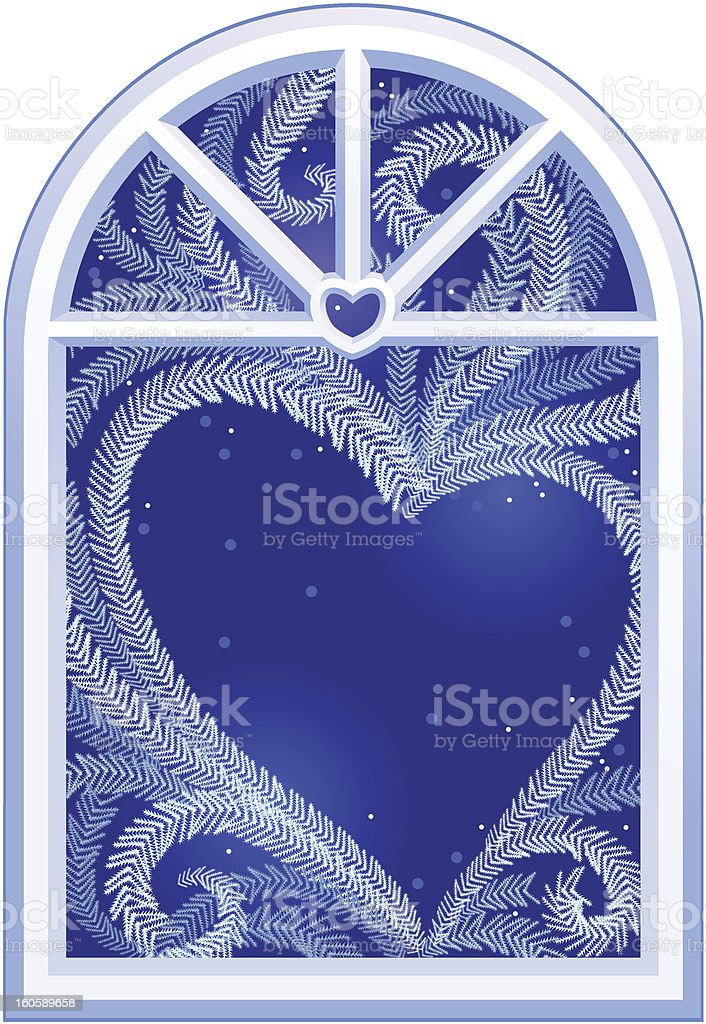 Heart on window royalty-free heart on window stock vector art & more images of beauty in nature