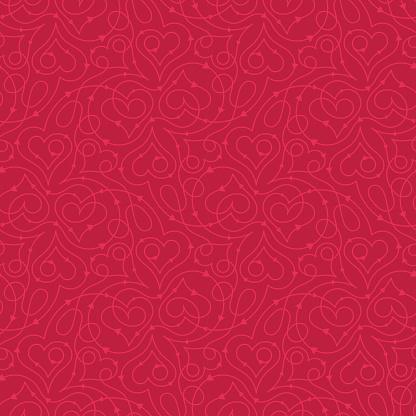 Heart pattern clipart