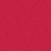 Seamless pattern with heart shapes vector illustration