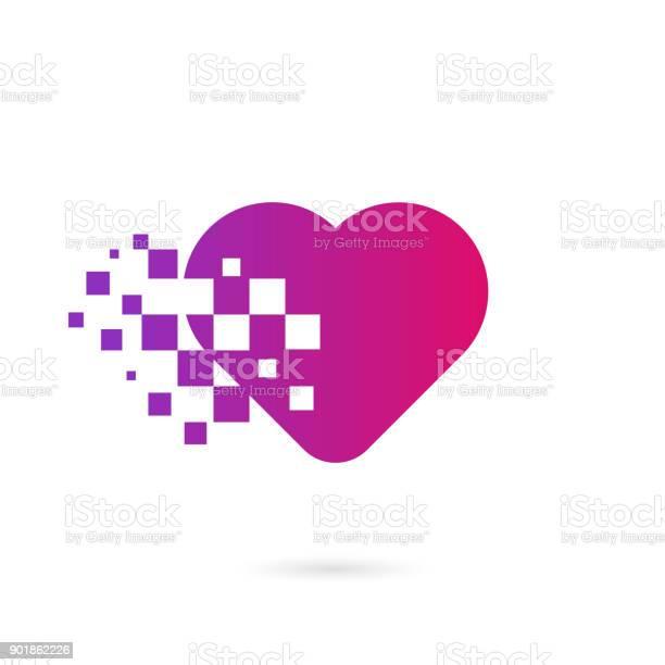 De Coeur De Pixel Vectoriel Gratuit 133 Téléchargements