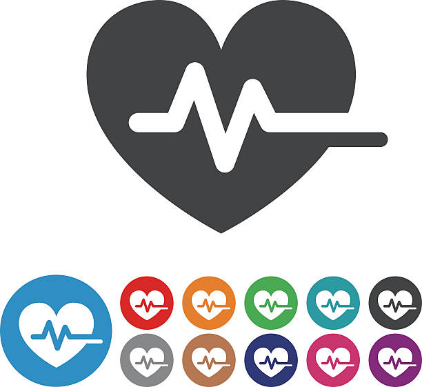 Heart Pulse Icons - Graphic Icon Series View All: taking pulse stock illustrations