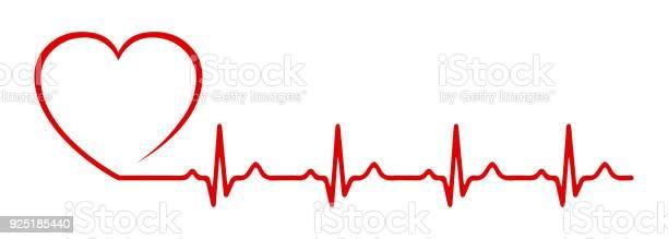 심장 맥 박 한 줄벡터 감정에 대한 스톡 벡터 아트 및 기타 이미지
