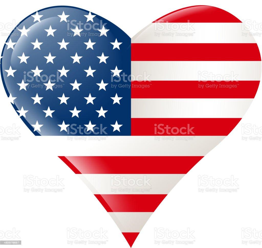 heart shape celebration vector art illustration
