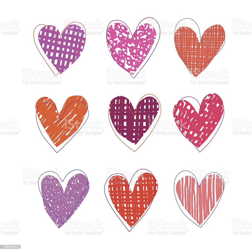 Heart Shape Collection royalty-free heart shape collection stock vector art & more images of cheerful