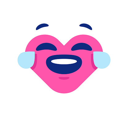 Heart shape emoticon