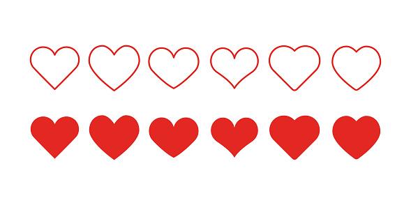 Heart Shape Icons
