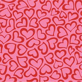 Heart shape seamless pattern. Easy to use. If you need some assistance, just sitemail me.