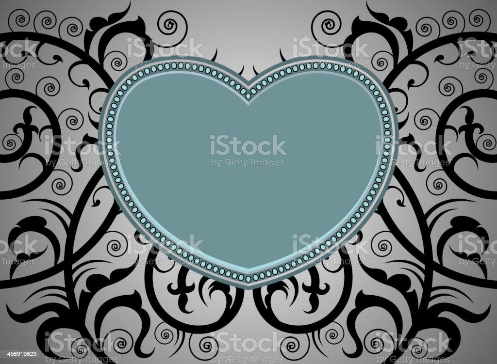 Heart Shape Tattoo Art Pattern Stock Illustration Download Image Now Istock