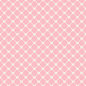 Heart shape vector seamless pattern (tiling). Pink color. Endless texture can be used for printing onto fabric and paper or scrap booking. Valentines day background for invitation.