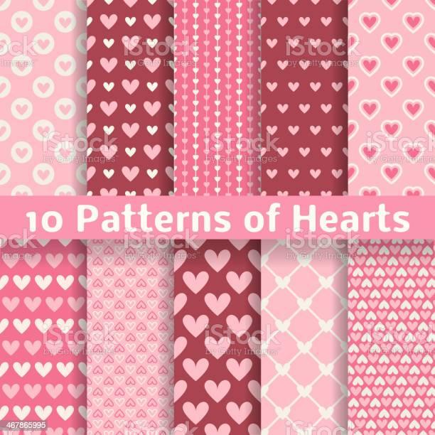 Heart shape vector seamless patterns vector id467865995?b=1&k=6&m=467865995&s=612x612&h=xiykdpkommdqnqivulyqqyncfxyrjmb2fjxluduvj9m=