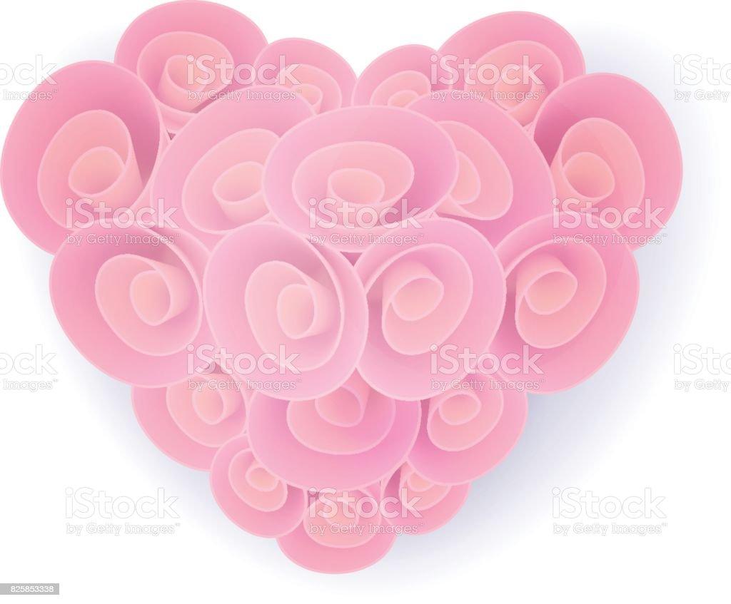 bouquet en forme de cœur – cliparts vectoriels et plus d'images de a