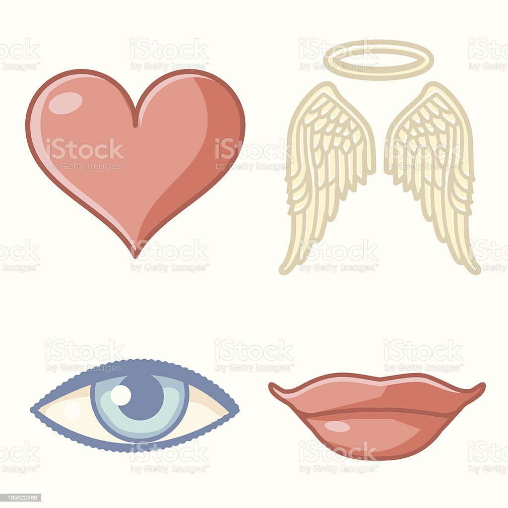 Heart + Soul royalty-free stock vector art